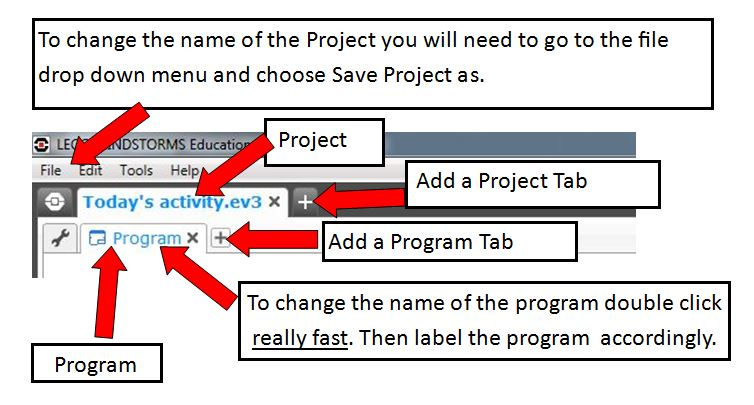 How to save your EV3 Program